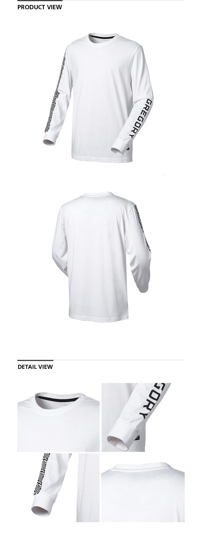 그레고리(GREGORY) 반다 긴팔 티셔츠 - 화이트
